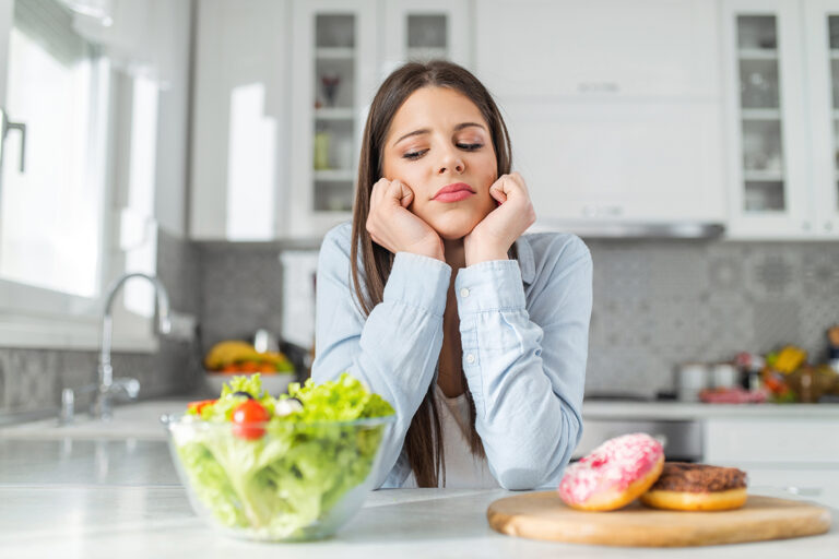 Starvation all day, the benefits of dieting